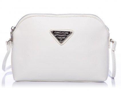 Malá kabelka přes rameno Crossbody bílá Jennifer Jones 3820 ModexaStyl (2)