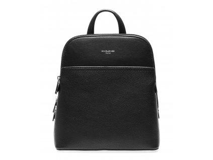Dámský kožený batůžek černý David Jones 6221 1 ModexaStyl (3)