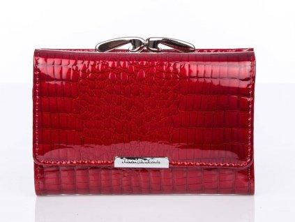 Dámská kožená peněženka na klip červená Jennifer Jones 5282 2 RD ModexaStyl (3)