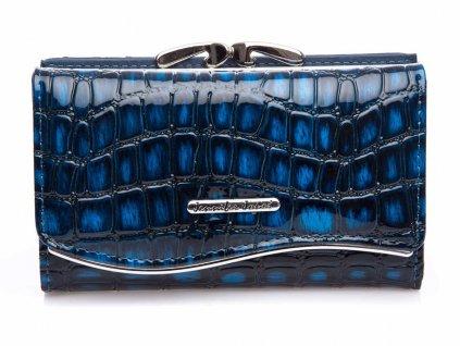 Dámská kožená peněženka Jennifer Jones 5245 8 modrá croco Modexastyl (4)