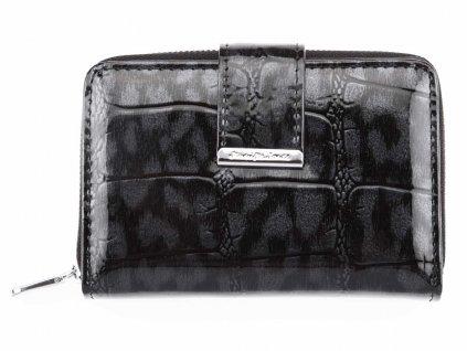 Malá dámská kožená peněženka Jennifer Jones 5198_3 černá ModexaStyl