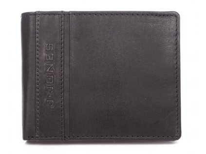 Pánská kožená peněženka černá J Jones 5708 ModexaStyl (2)