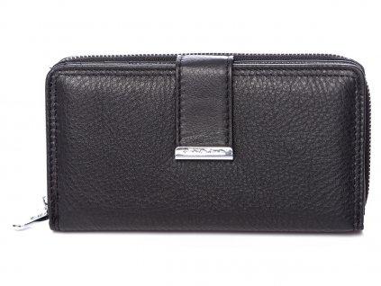 Dámská kožená peněženka černá Jennifer Jones 5270 ModexaStyl (2)