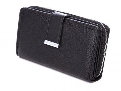 Dámská kožená peněženka černá Jennifer Jones 5270 ModexaStyl (3)