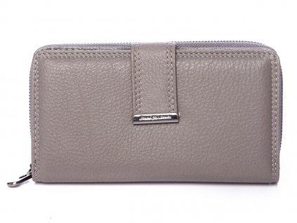 Dámská kožená peněženka šedá Jennifer Jones 5270 ModexaStyl (2)