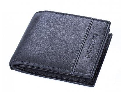 Pánská kožená peněženka černá J Jones 55449 BK ModexaStyl (3)