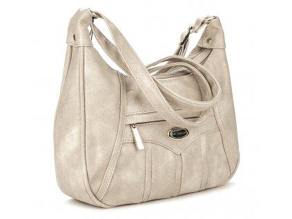 Malá kabelka přes rameno béžová Bag Street 3022 ModexaStyl (3)
