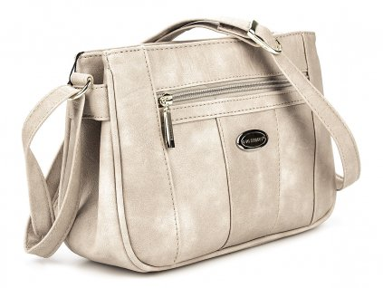 Malá kabelka přes rameno béžová Bag Street 3018 2 ModexaStyl (3)