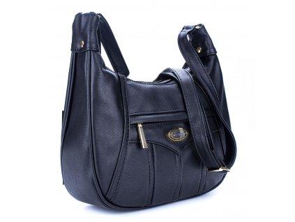Středně velká kabelka přes rameno černá Bag Street 3022 ModexaStyl (3)