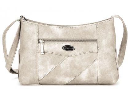 Malá kabelka přes rameno béžová Bag Street 3025 ModexaStyl (3)