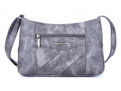 Malá kabelka přes rameno šedá Bag Street 3025 ModexaStyl (2)