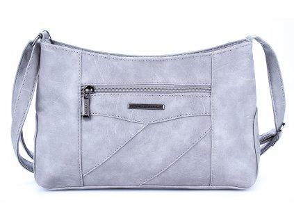 Malá kabelka přes rameno světle šedá Bag Street 3025 ModexaStyl (1)