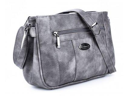 Malá kabelka přes rameno šedá Bag Street 3018 2 ModexaStyl (2)