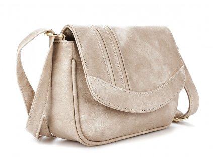 Malá kabelka přes rameno béžová Bag Street 3251 ModexaStyl (4)
