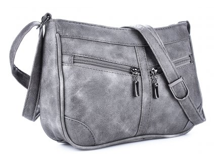 Malá kabelka přes rameno šedá Bag Street 3252 ModexaStyl (3)