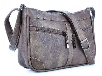 Malá kabelka přes rameno hnědá Bag Street 3252 ModexaStyl (3)