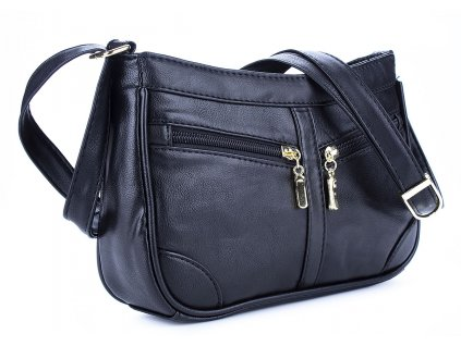 Malá kabelka přes rameno černá Bag Street 3252 ModexaStyl (3)