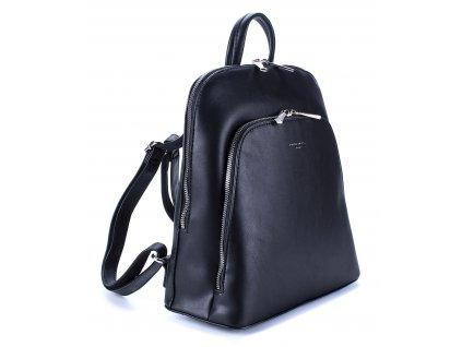 Dámský kožený batůžek David Jones černý 5895 ModexaStyl (3)