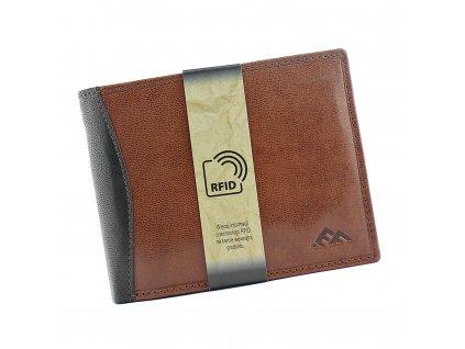 Pánská kožená peněženka hnědá El Forrest 545A 21 ModexaStyl (1)