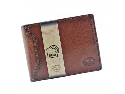 Pánská kožená peněženka hnědá El Forrest 892A 29 ModexaStyl (1)