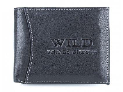 Pánská kožená peněženka Wild 5504 černá ModexaStyl (4)
