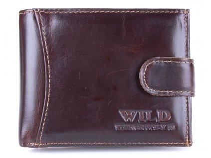Pánská kožená peněženka Wild 55041 hnědá ModexaStyl (2)