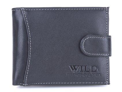 Pánská kožená peněženka Wild 55041 černá ModexaStyl (3)