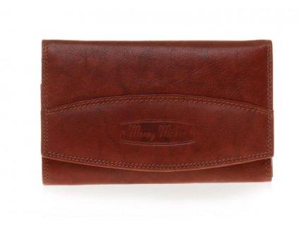 Dámská kožená peněženka 12131B - hnědá