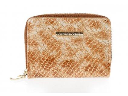 Malá kožená peněženka 5248 - zlatá