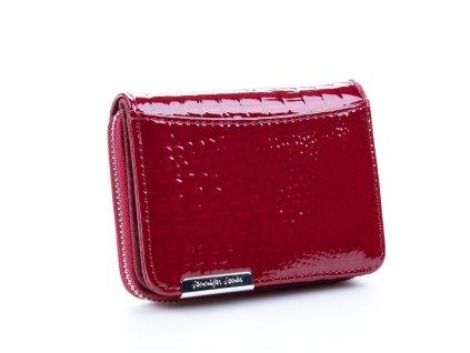 Malá kožená peněženka 5262-2 - červená
