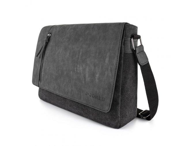 Pánská taška přes rameno černá velká J JONES 4526 Harolds ModexaStyl