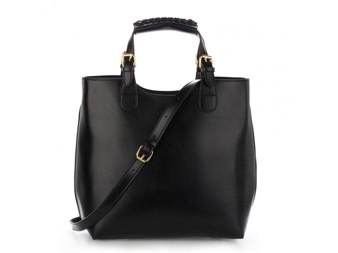 Kabelka shopper bag Anna Grace AG00267-BK černá 1