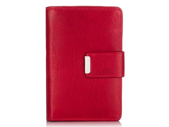 Dámská kožená peněženka červená Jennifer Jones 509B ModexaStyl (9)