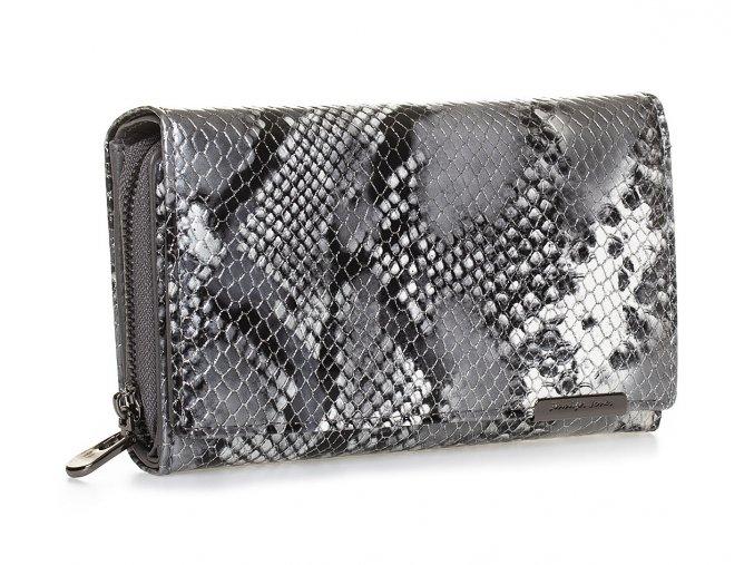 Dámská kožená peněženka jennifer Jones 5261 5 šedá (4)