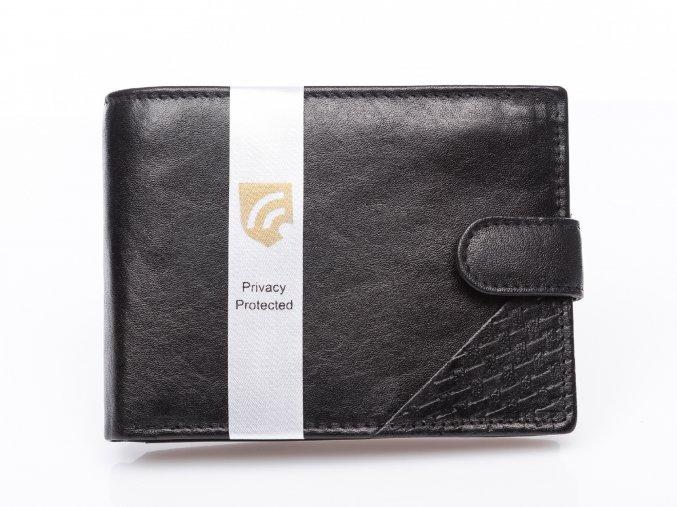 Pánská kožená peněženka černá Cash 5643 rfid (3)