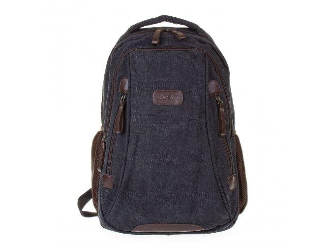 Batoh plátěný velký Gil Bags černý 3004 01 (3)
