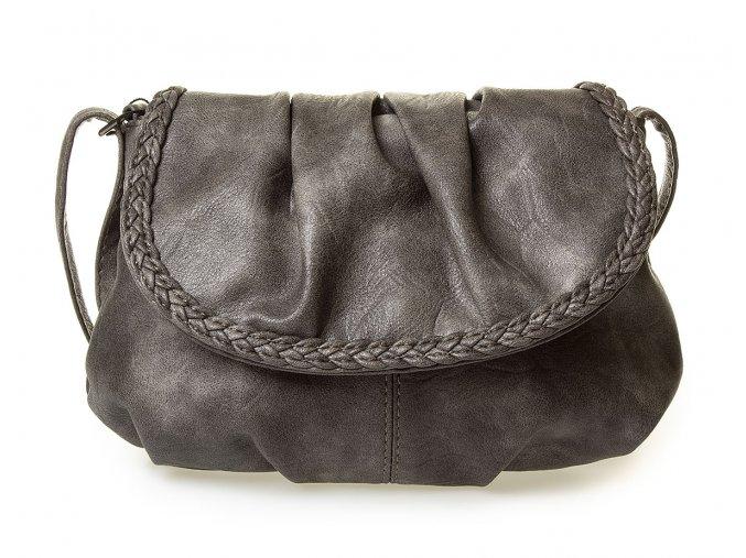 Malá dámská kabelka přes rameno šedá Bag Street 3257 BG (2)