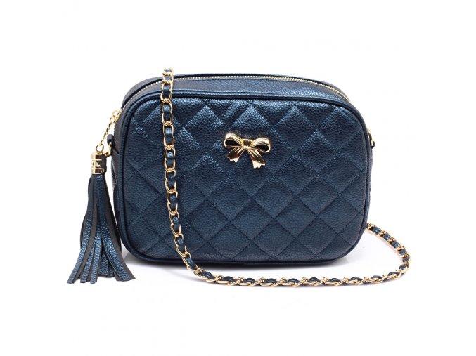 Malá kabelka přes rameno crossbody modrá Anna Grace AG00540 NY (4)