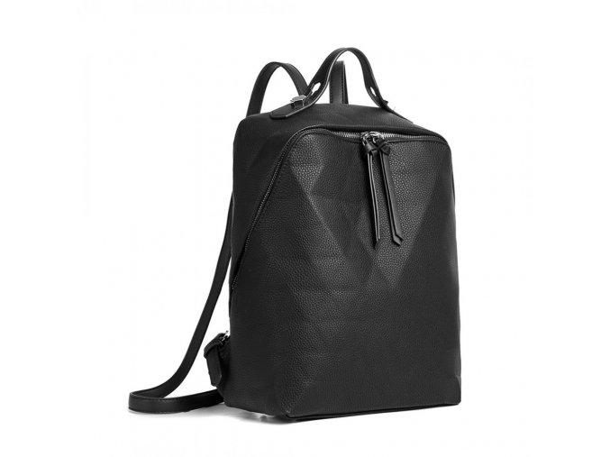 Dámský kožený batoh_batůžek Kono LG1904 černý