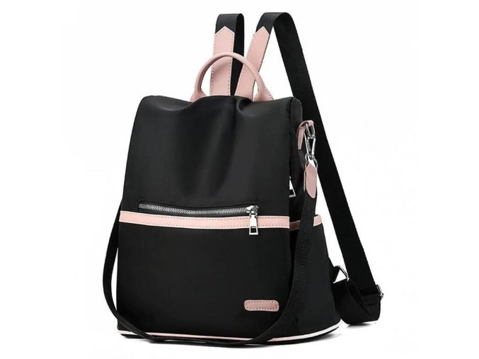 Dámský batůžek a kabelka 2v1 černý GIL Bags 2028 ModexaStyl (2)