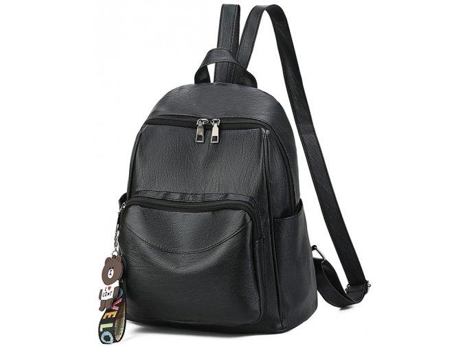 Dámský městský batoh GIL Bags 2018 černý ModexaStyl (2)