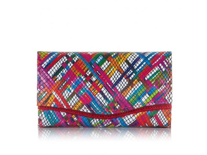 Dámská kožená peněženka Paolo Peruzzi L39 červená ModexaStyl (1)