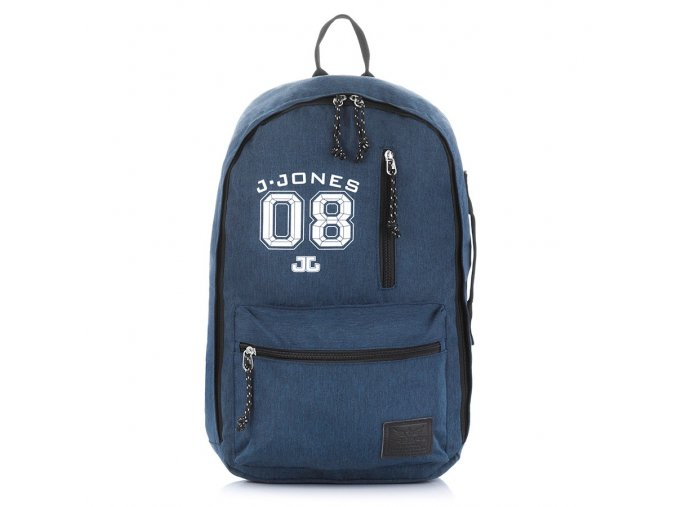 Stylový městský batoh City 4090 J Jones modrý ModexaStyl (1)