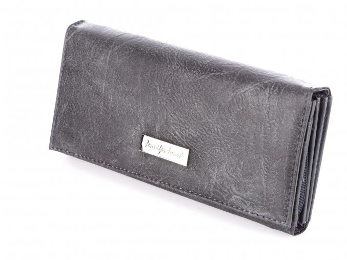 Dámská peněženka Jennifer Jones 1109 šedá ModexaStyl (3)
