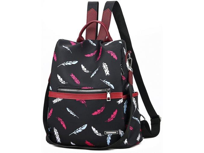 Dámský batůžek a kabelka 2v1 černý Gil Bags 2027 ModexaStyl (15)