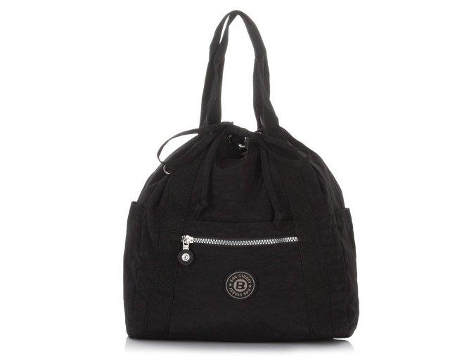 Lehký dámský batoh a kabelka Bag Street 2247 černý ModexaStyl (1)