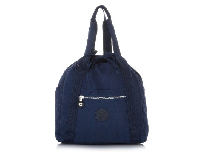 Lehký dámský batoh a kabelka Bag Street 2247 modrý ModexaStyl (1)