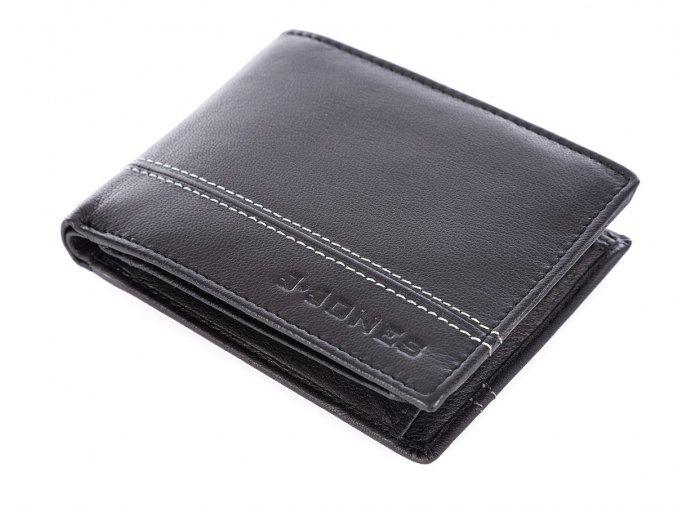 Pánská kožená peněženka J Jones 5316 černá ModexaStyl (8)