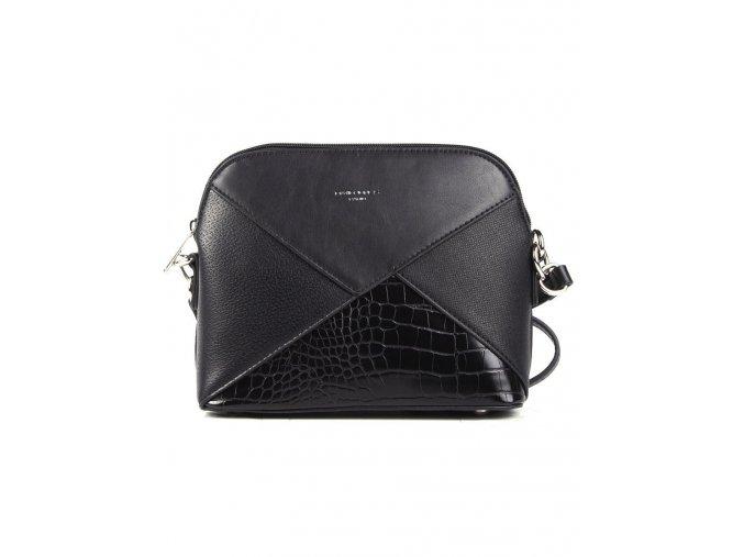 Elegantní crossbody kabelka přes rameno David Jones 6406 1 černá ModexaStyl (3)
