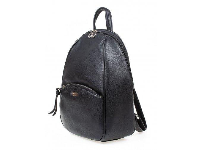 Malý dámský kožený batůžek David Jones CM5604 černý ModexaStyl (4)